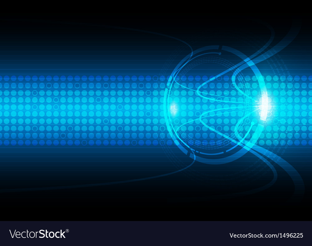 Abstract communication technology background vector | Price: 1 Credit (USD $1)