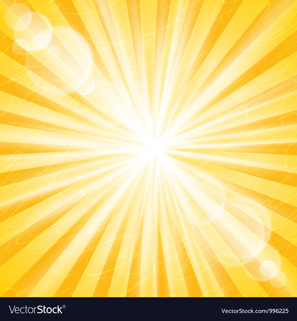 Abstract sun background vector | Price: 1 Credit (USD $1)