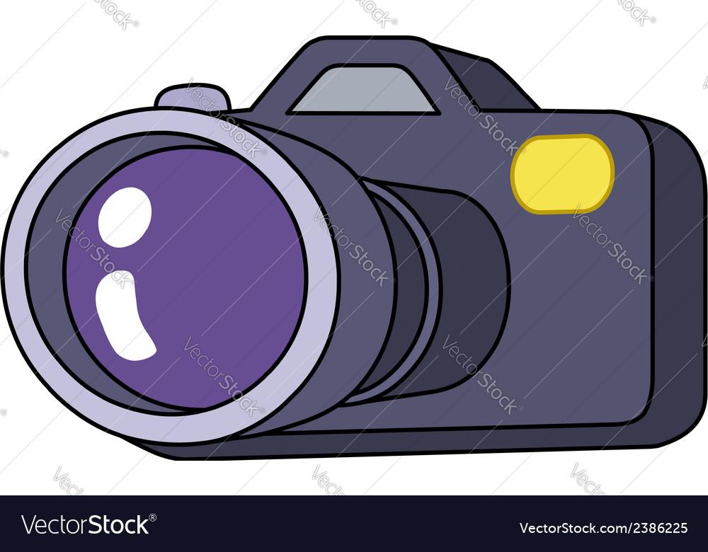 Cartoon camera vector | Price: 1 Credit (USD $1)