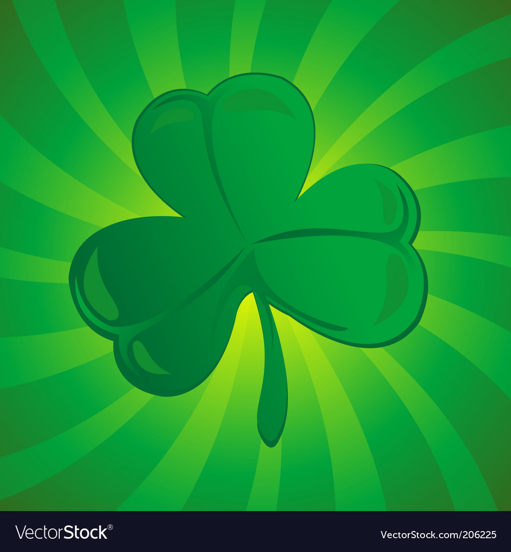 Clover or shamrock vector | Price: 1 Credit (USD $1)