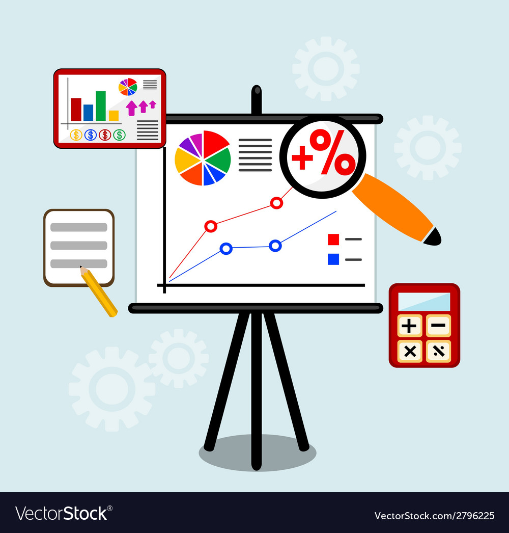 Flat design infographic concept with icons set of vector | Price: 1 Credit (USD $1)