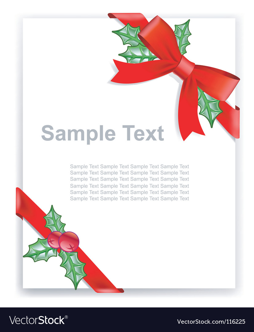 Greeting card certificate vector | Price: 1 Credit (USD $1)