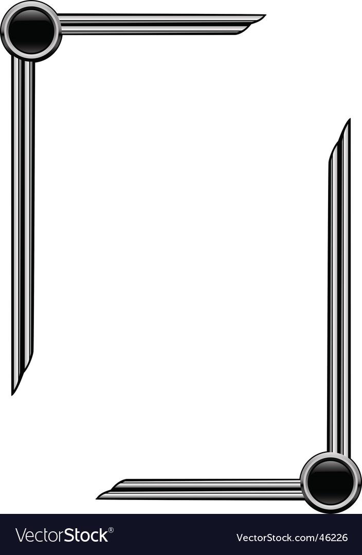 Art deco page borders vector | Price: 1 Credit (USD $1)