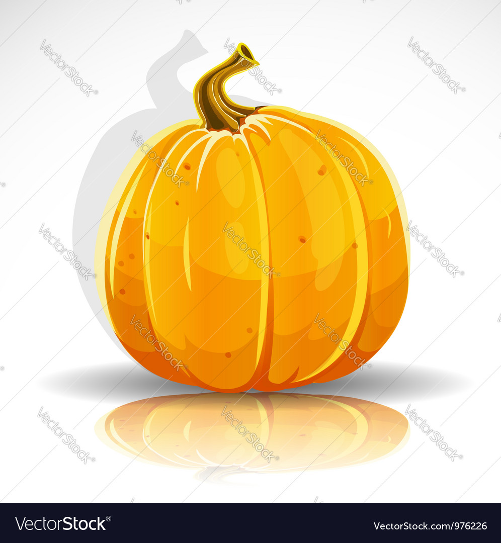Beautiful halloween pumpkin vector | Price: 3 Credit (USD $3)