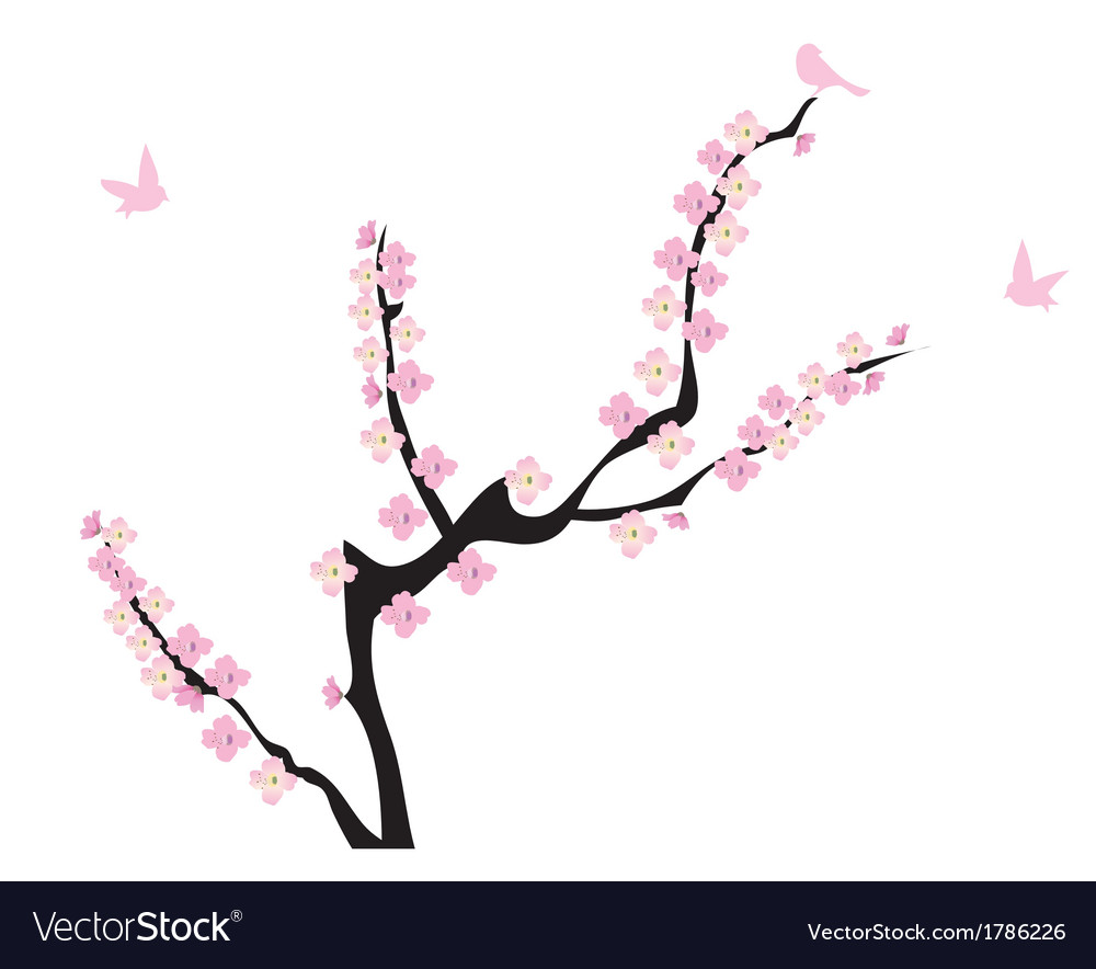 Blooming vector | Price: 1 Credit (USD $1)