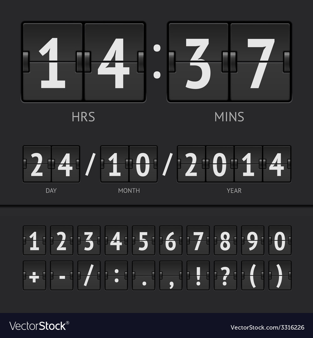 Countdown timer vector   Price: 1 Credit (USD $1)
