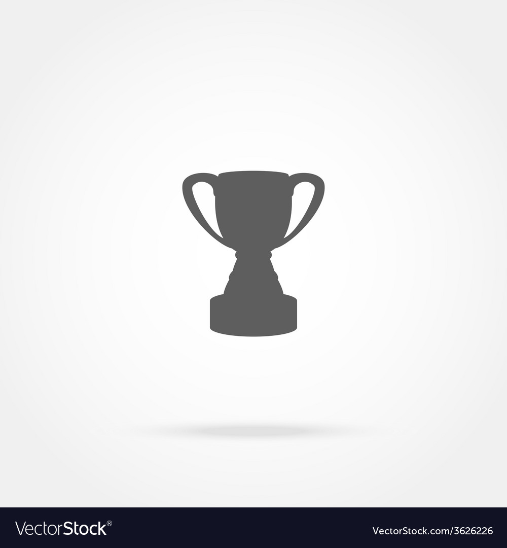 Cup champion icon vector | Price: 1 Credit (USD $1)
