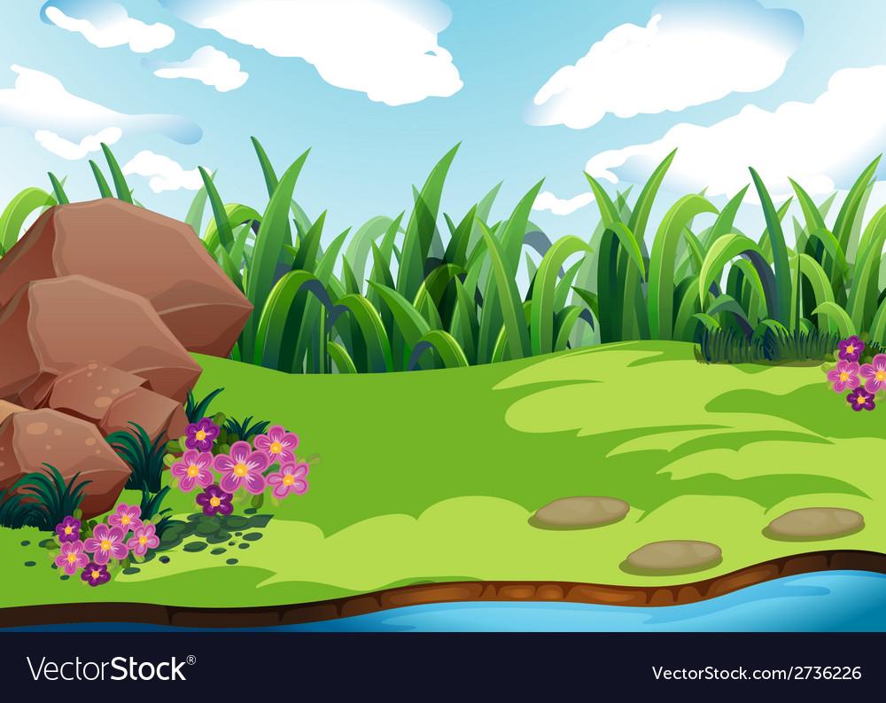 Land vector | Price: 1 Credit (USD $1)