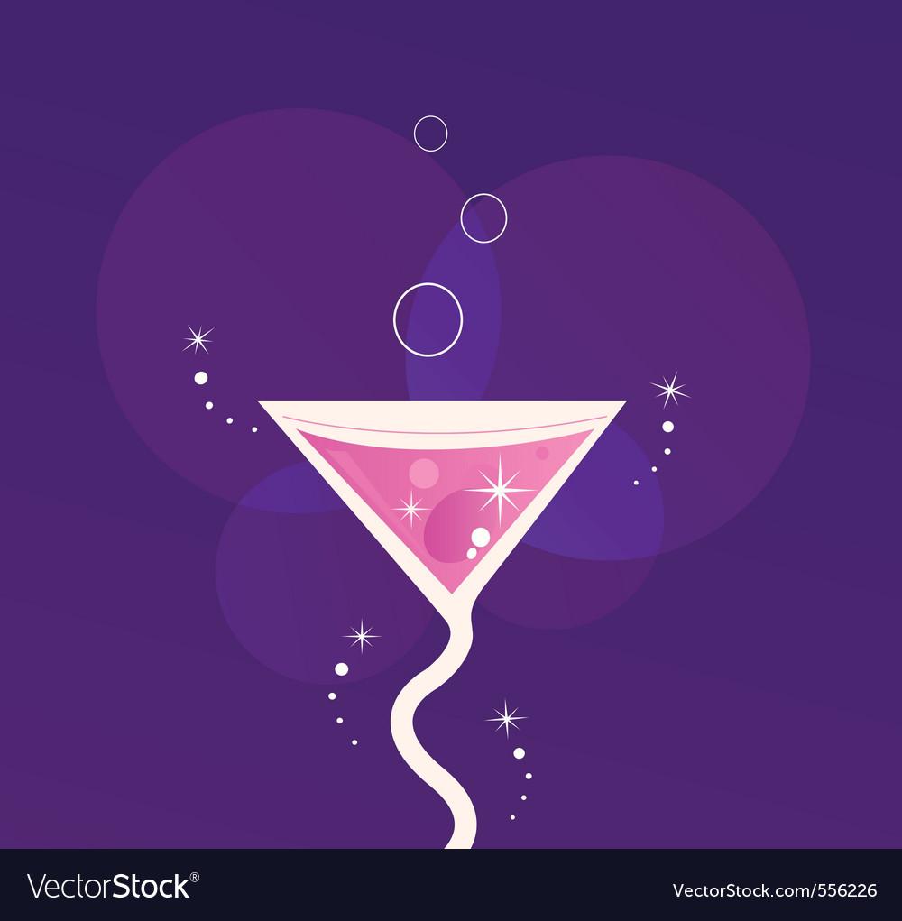 Martini cocktail vector | Price: 1 Credit (USD $1)