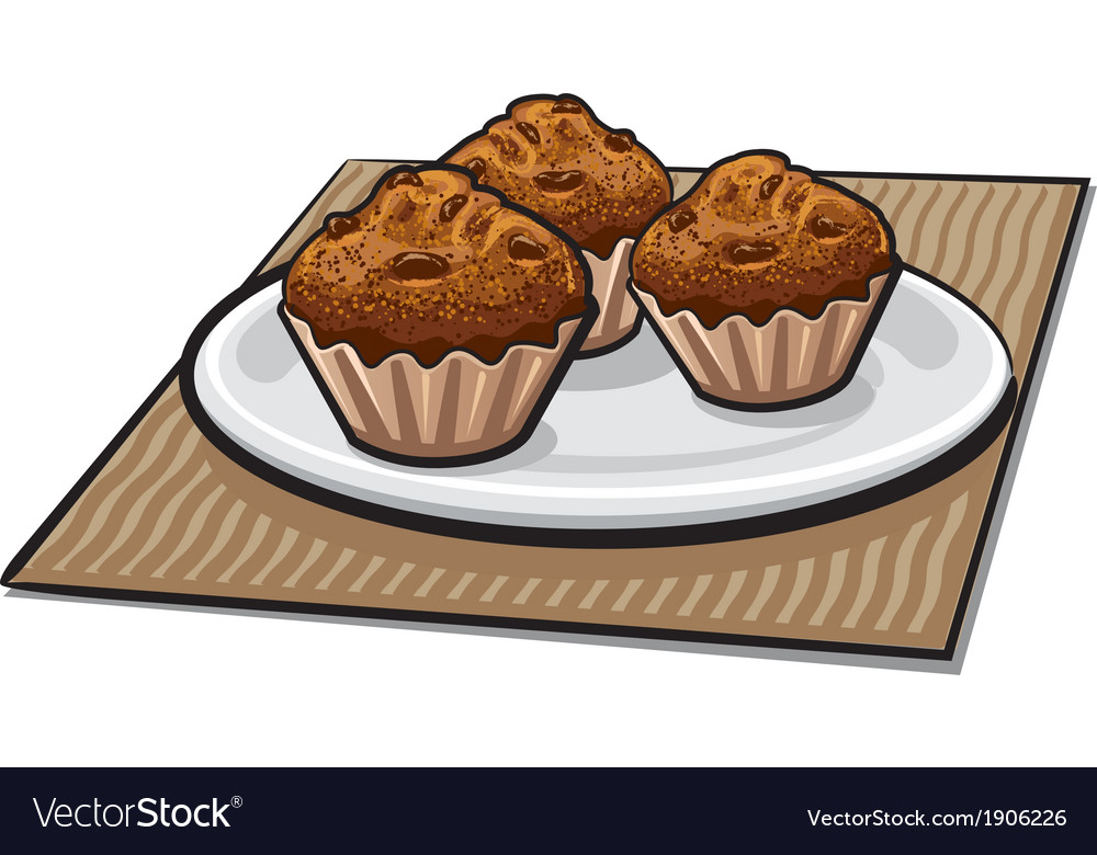 Muffins vector | Price: 3 Credit (USD $3)
