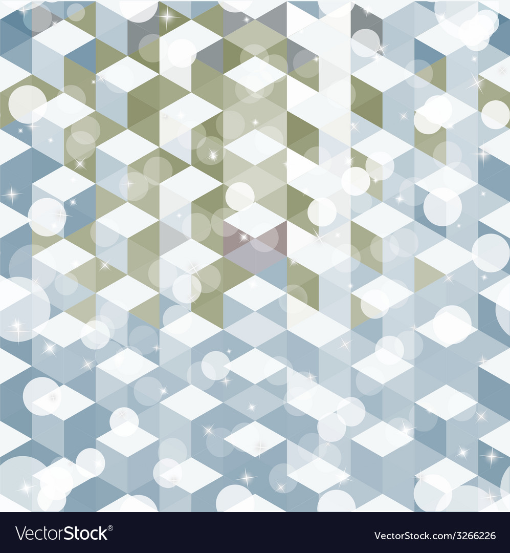Pattern of geometric shapes colorful mosaic vector   Price: 1 Credit (USD $1)
