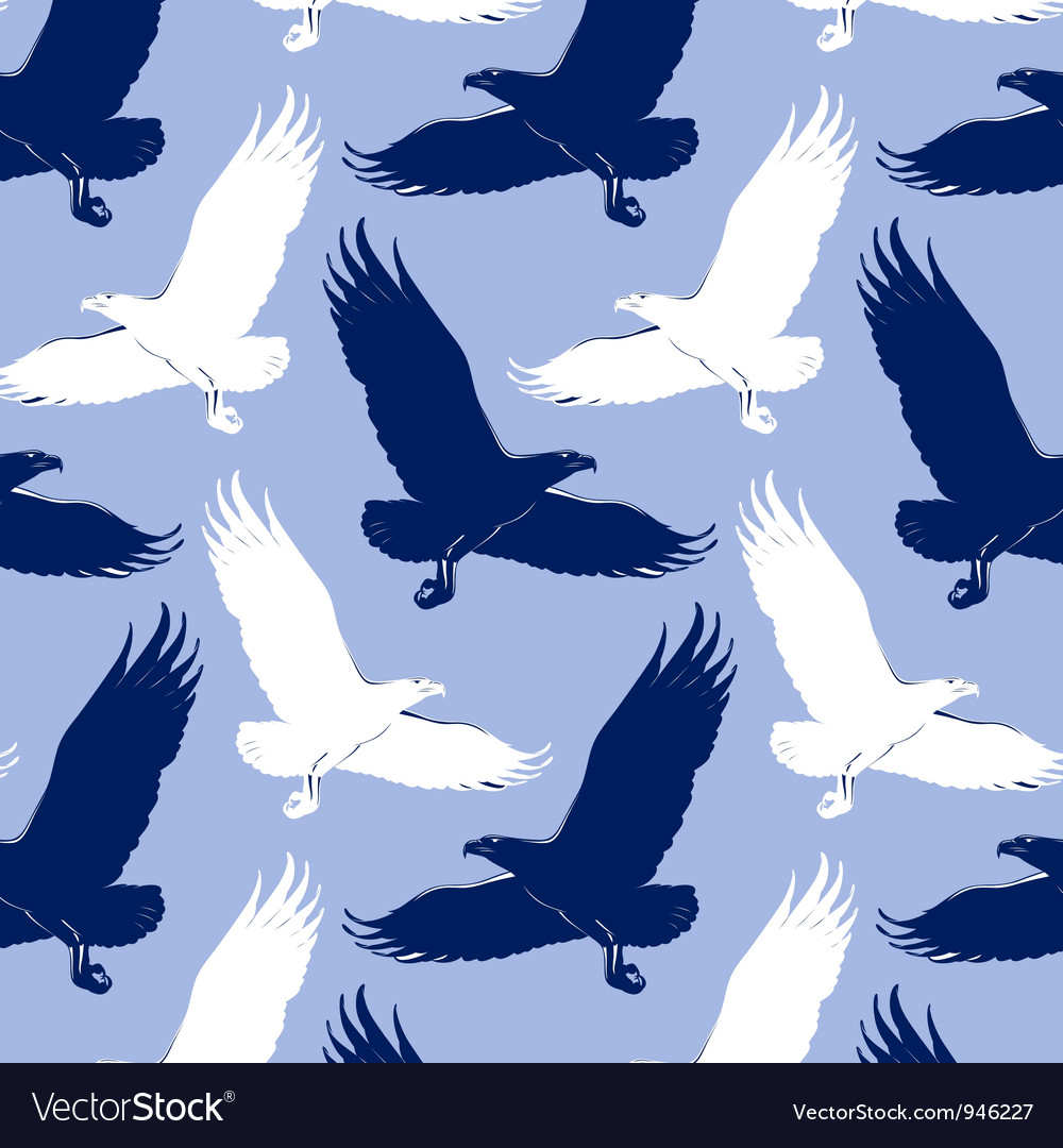 Eagle background vector | Price: 1 Credit (USD $1)