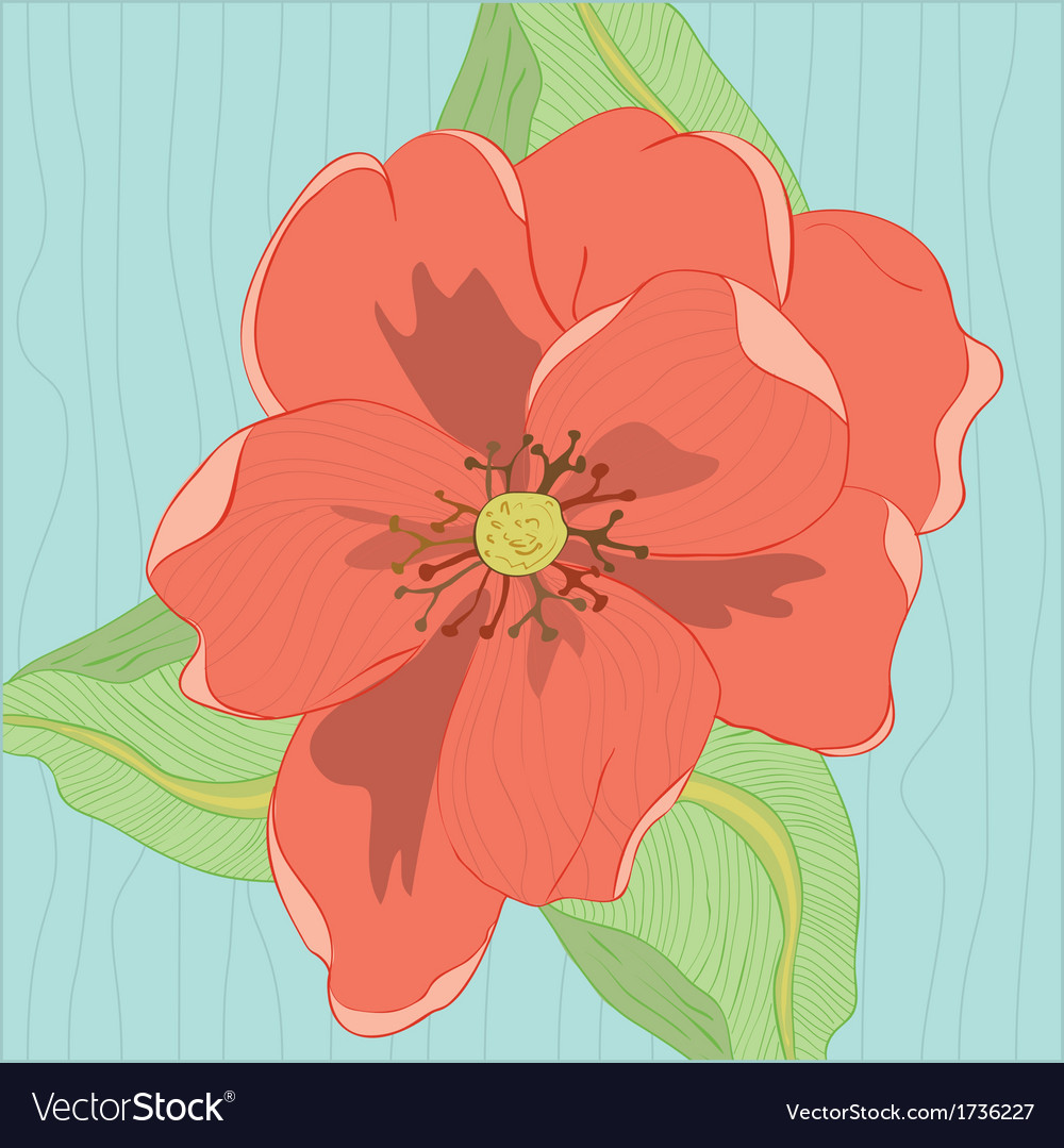 Oleander flower vector | Price: 1 Credit (USD $1)