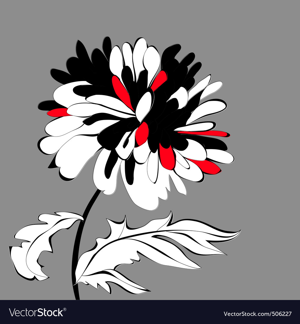 Original flower vector | Price: 1 Credit (USD $1)