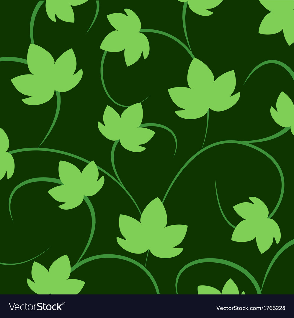 Blackground with leaves of grapes vector | Price: 1 Credit (USD $1)
