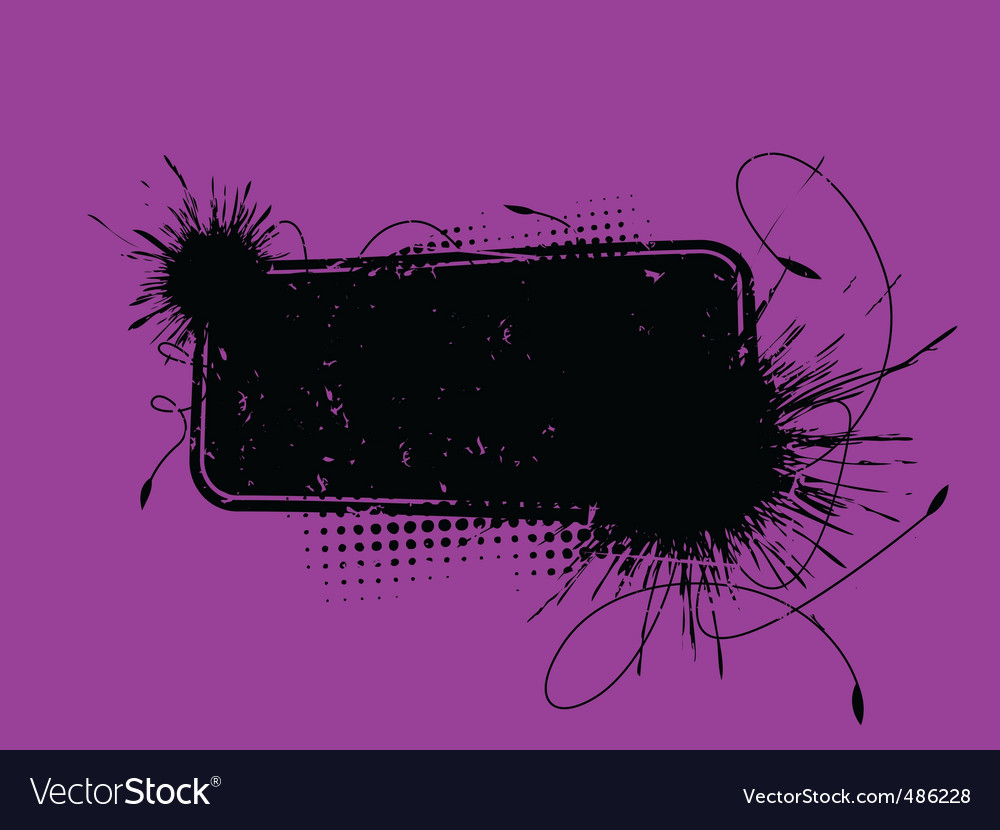 Blot banner vector | Price: 1 Credit (USD $1)