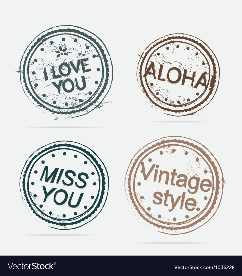 Collection of premium quality labels vintage vector | Price: 1 Credit (USD $1)