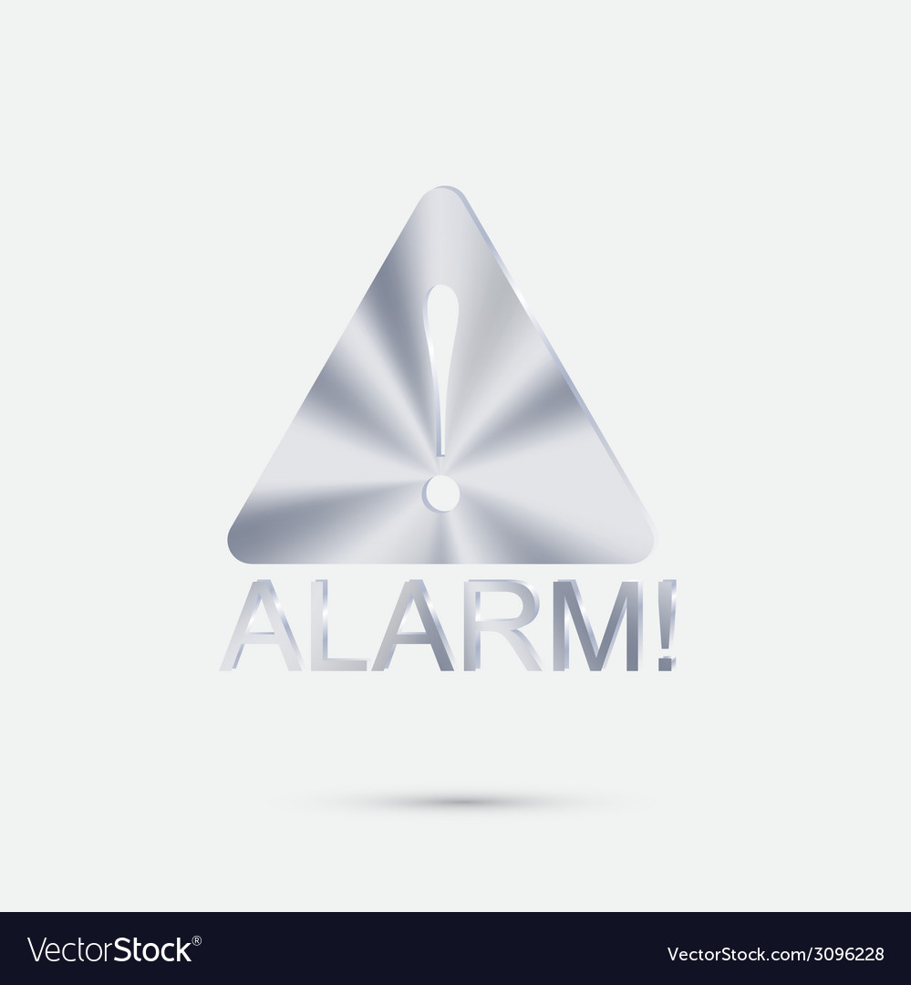 Exclamation sign vector | Price: 1 Credit (USD $1)