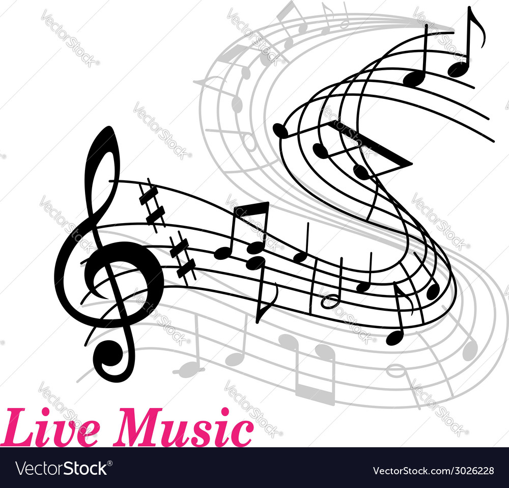 Live music poster template vector | Price: 1 Credit (USD $1)