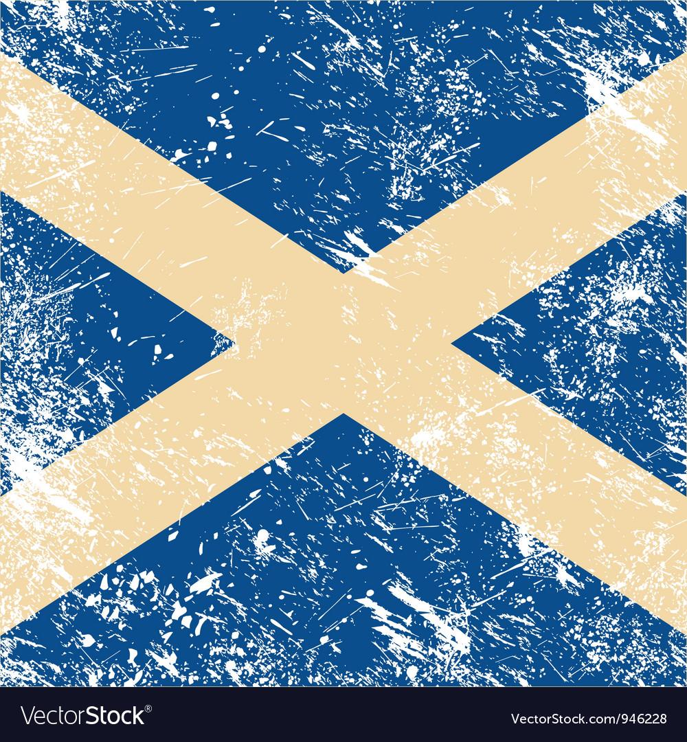 Scotland retro flag vector   Price: 1 Credit (USD $1)