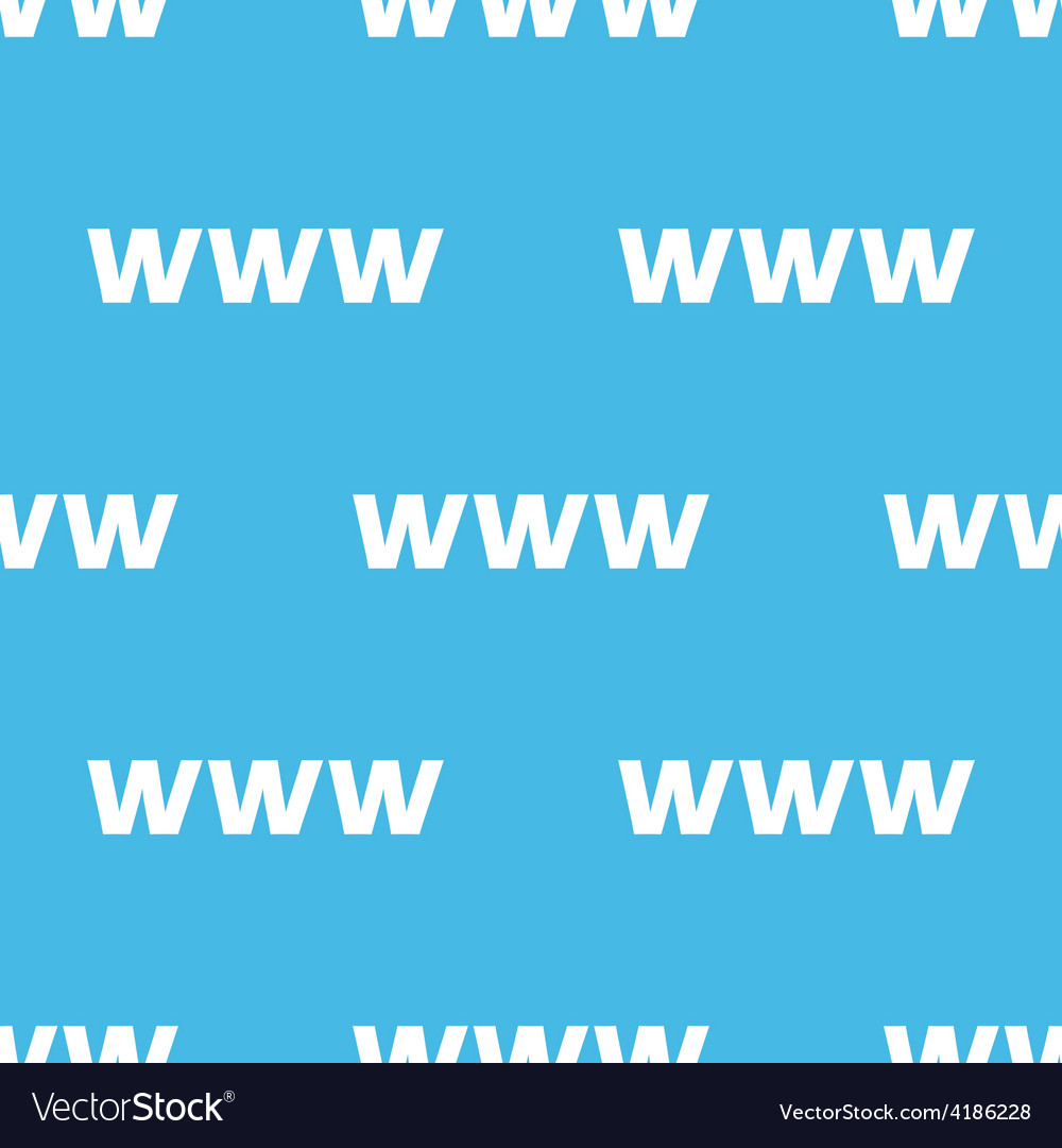 Www seamless pattern vector | Price: 1 Credit (USD $1)