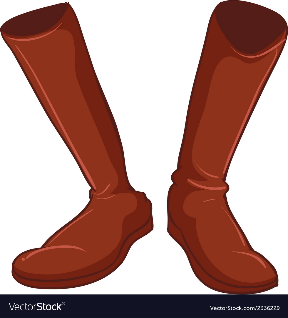 A pair of brown shoes vector   Price: 1 Credit (USD $1)