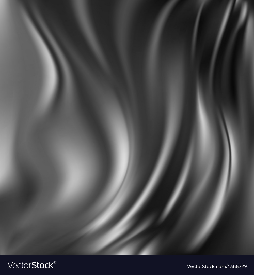 Black abstract silk background vector | Price: 1 Credit (USD $1)