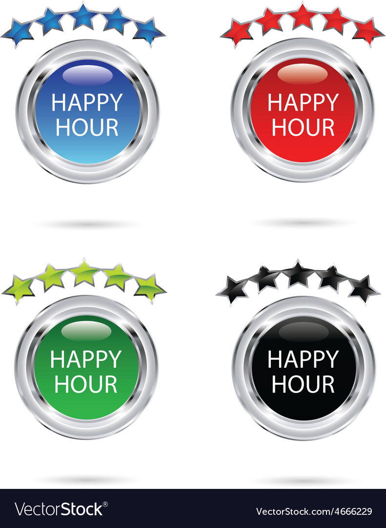 Happy hour resize vector | Price: 1 Credit (USD $1)