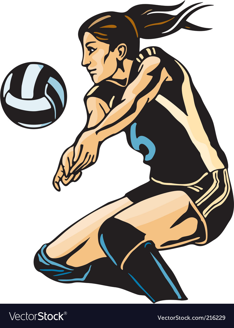 Volley ball vector | Price: 1 Credit (USD $1)
