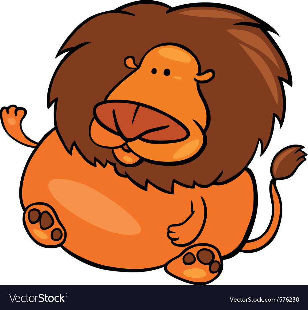 Cartoon of leo zodiac sign vector | Price: 1 Credit (USD $1)