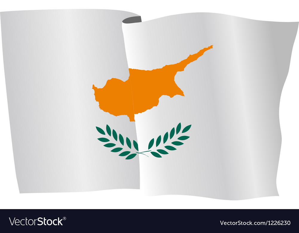 Flag of cyprus vector | Price: 1 Credit (USD $1)