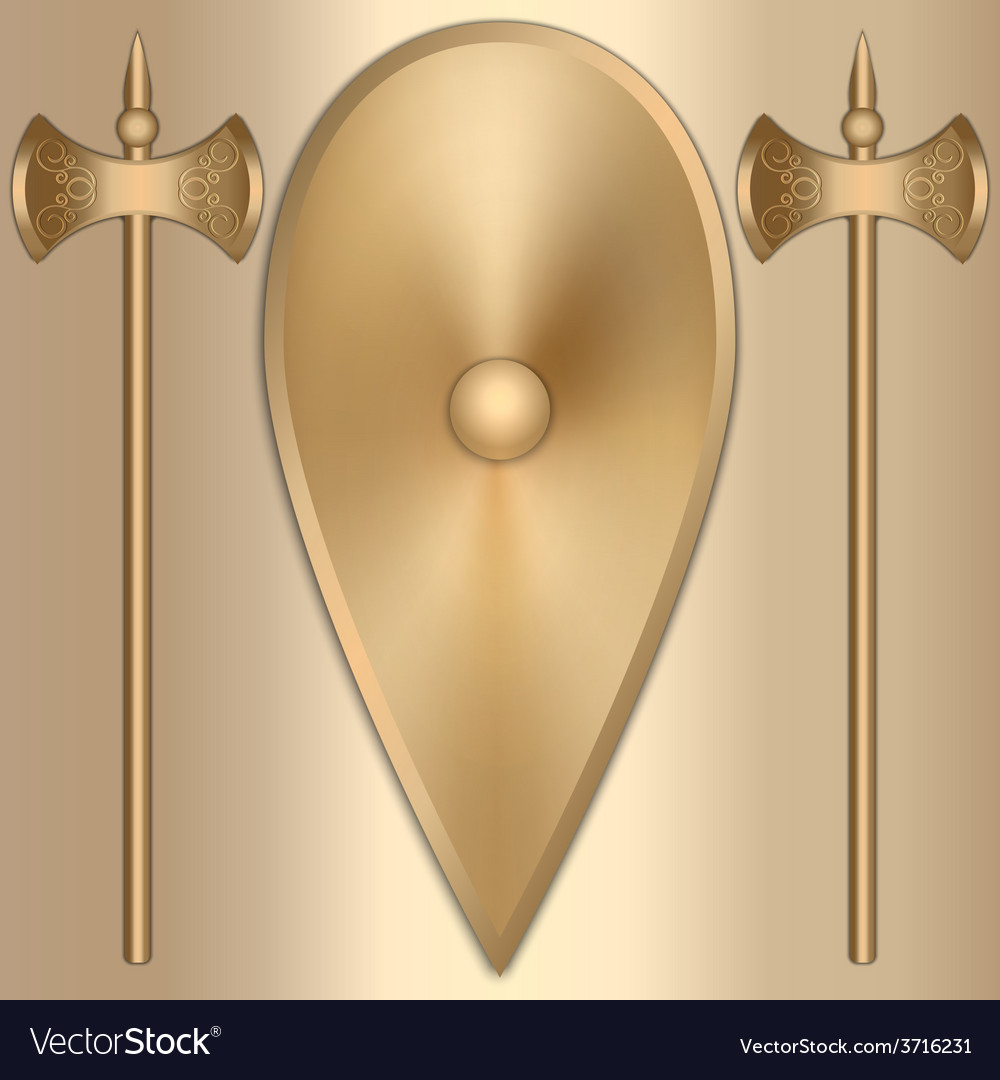Abstract of old gold greek vector | Price: 1 Credit (USD $1)