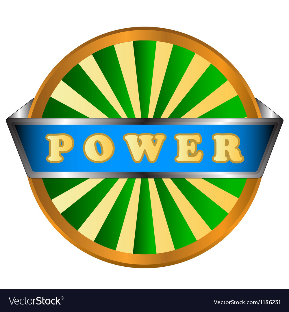 Power green circle logo vector   Price: 1 Credit (USD $1)