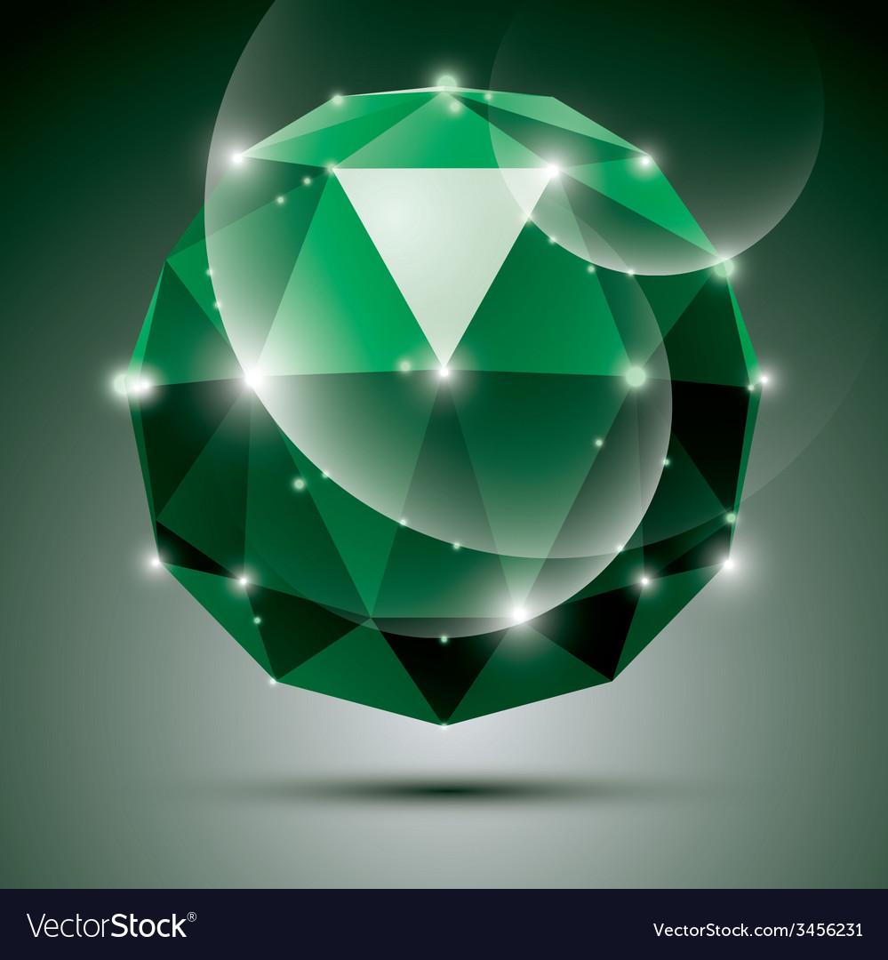 Stylish shiny emerald effect eps10 gala 3 vector   Price: 1 Credit (USD $1)