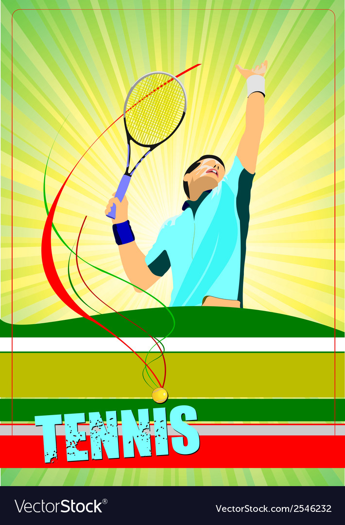Al 0807 tennis 03 vector | Price: 1 Credit (USD $1)