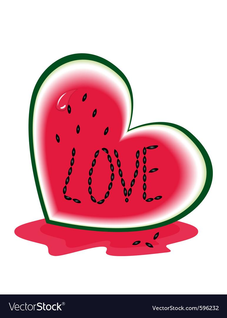 Slice of watermelon vector | Price: 1 Credit (USD $1)