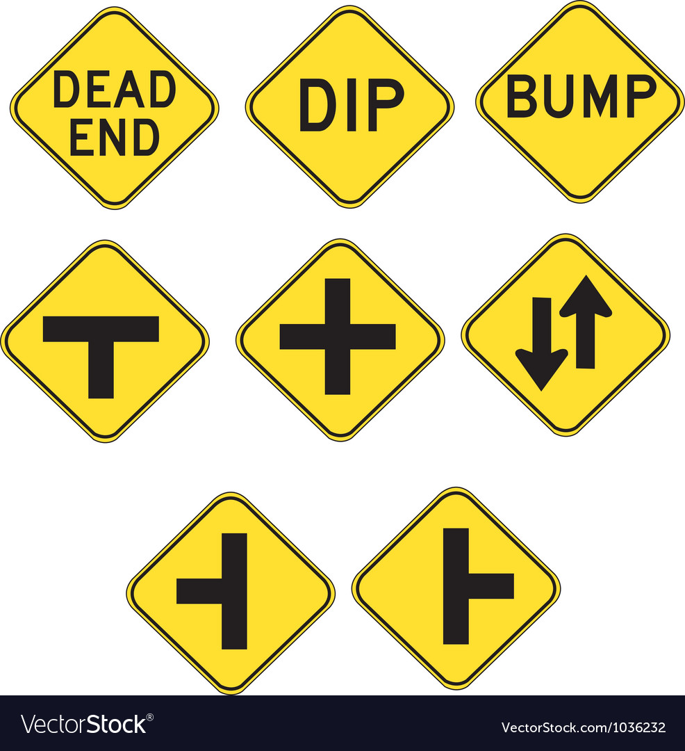 Streetsigns2 vector | Price: 1 Credit (USD $1)
