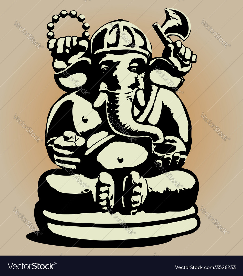 Dewa ganesha vector | Price: 1 Credit (USD $1)