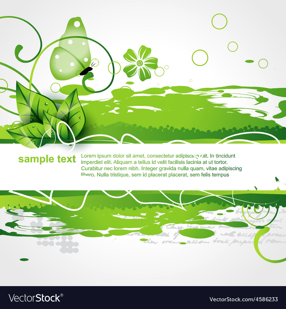 Green color nature background vector | Price: 1 Credit (USD $1)