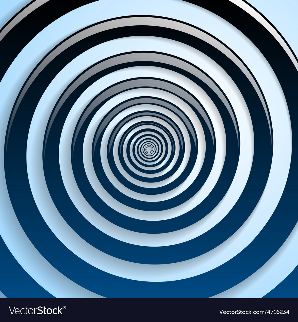 Blue spiral and gray background graphic vector | Price: 1 Credit (USD $1)