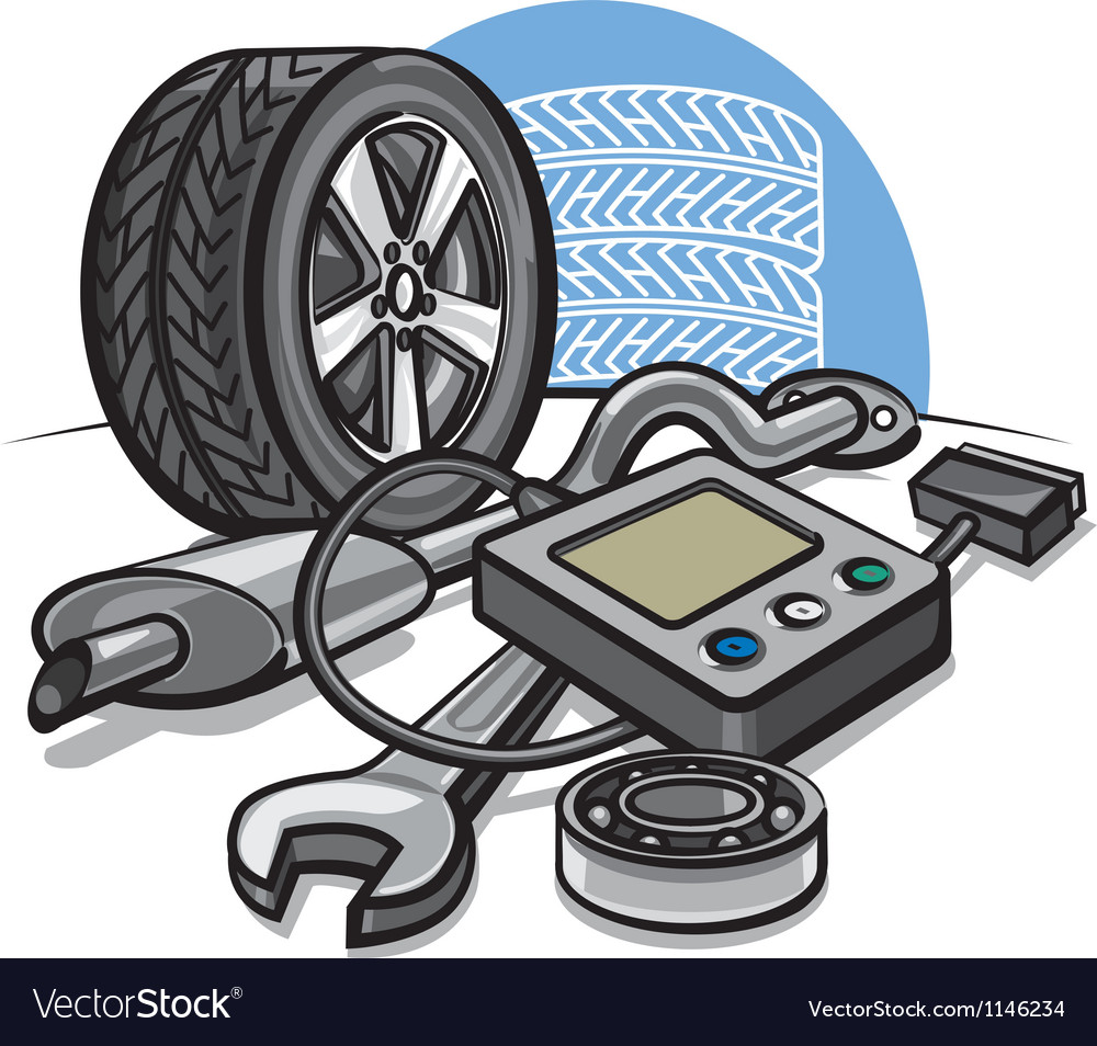 Car service vector | Price: 3 Credit (USD $3)