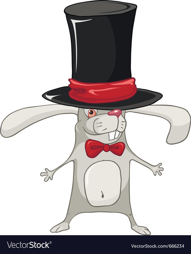 Cartoon character rabbit vector | Price: 3 Credit (USD $3)