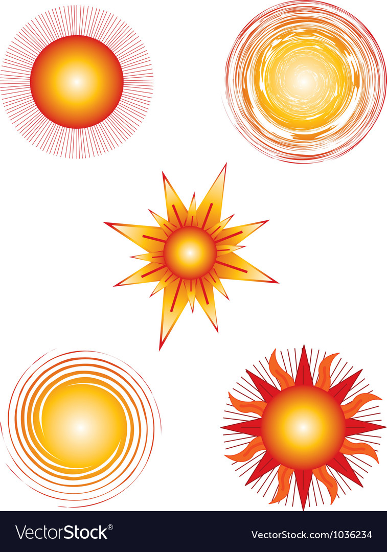 Suns vector | Price: 1 Credit (USD $1)