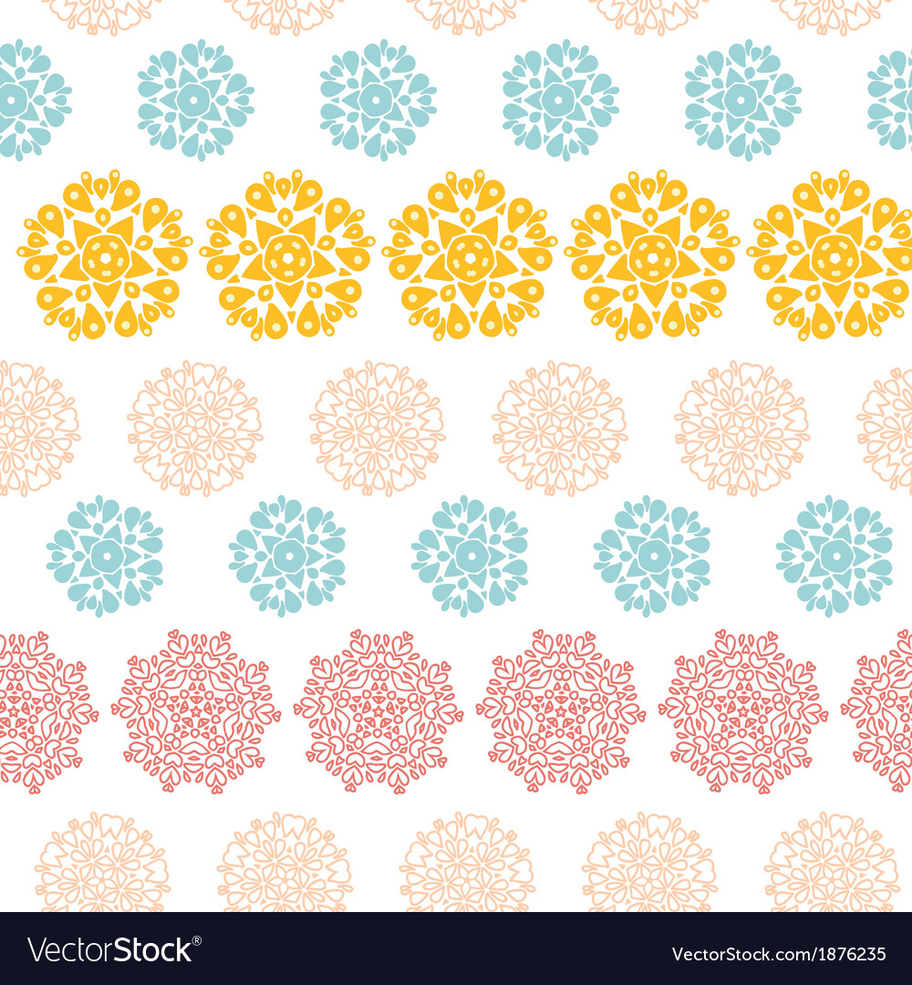 Abstract decorative circles stars striped seamless vector | Price: 1 Credit (USD $1)