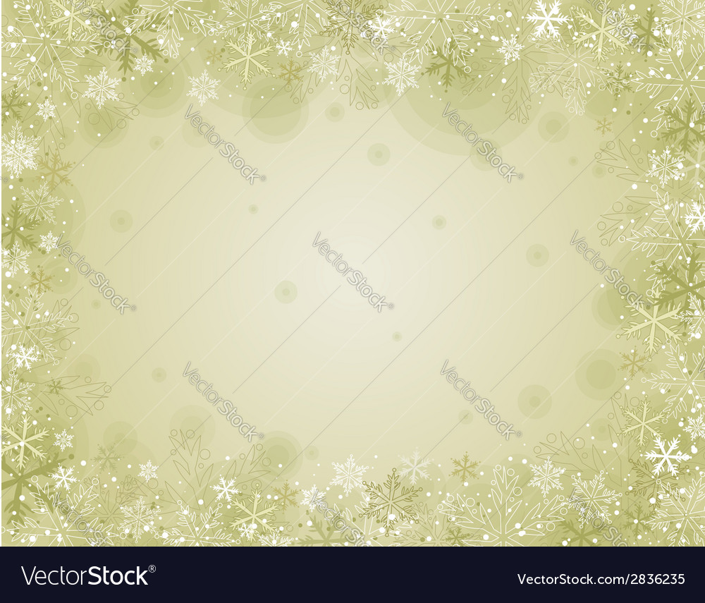 Beige christmas background vector | Price: 1 Credit (USD $1)