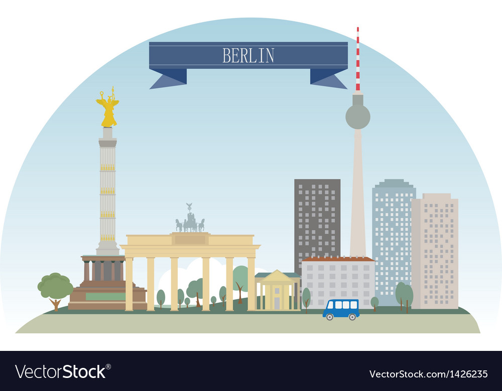 Berlin vector | Price: 3 Credit (USD $3)