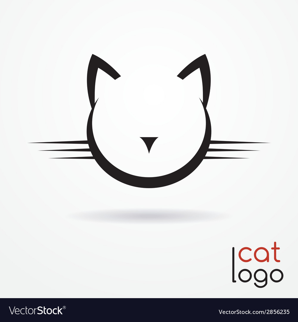 Cat logo vector | Price: 1 Credit (USD $1)