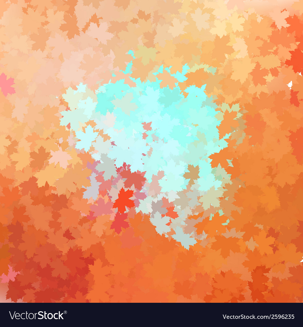 Colorful autumn background plus eps10 vector | Price: 1 Credit (USD $1)