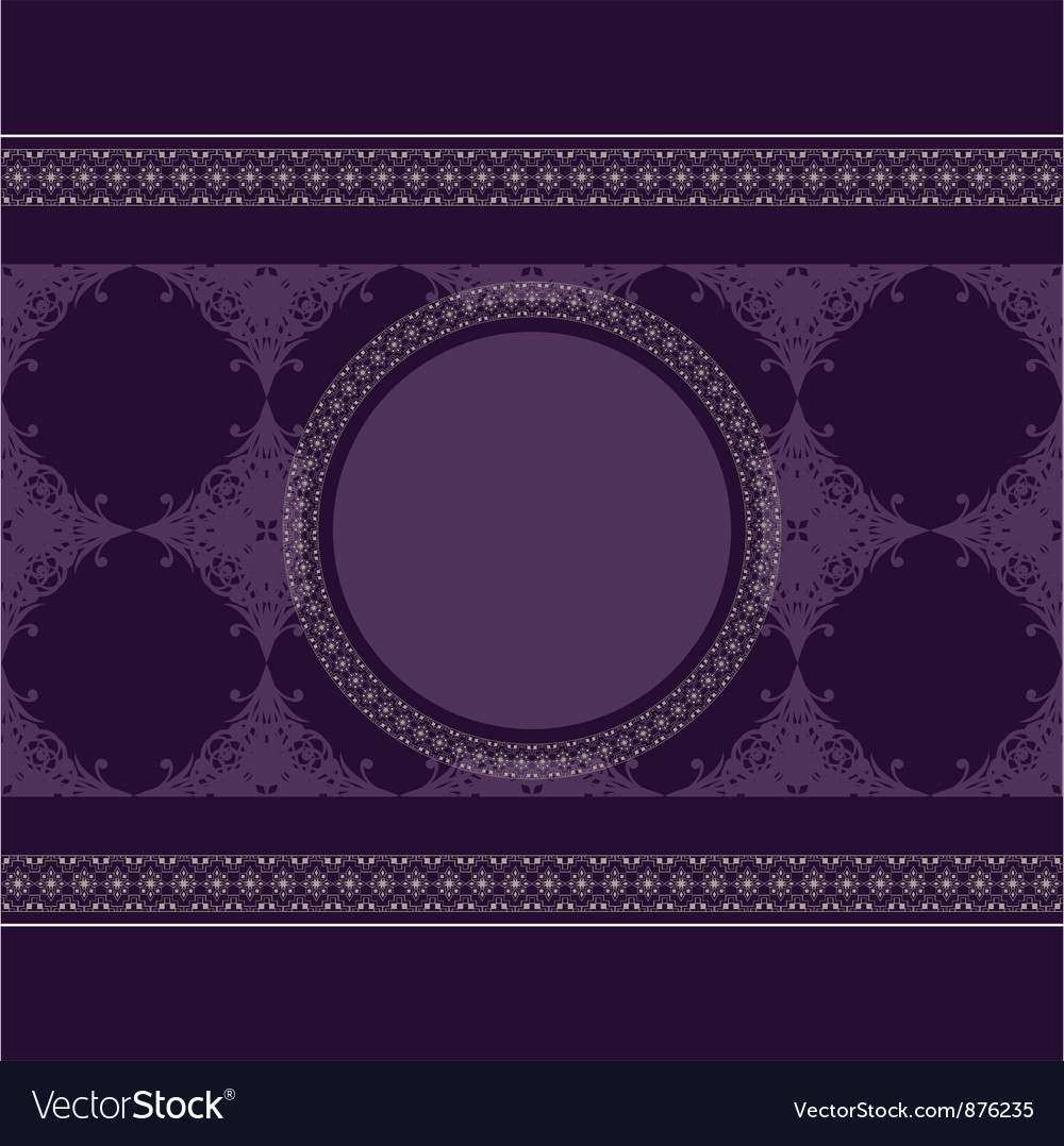 Seamless vintage eastern style pattern with lacy f vector | Price: 1 Credit (USD $1)