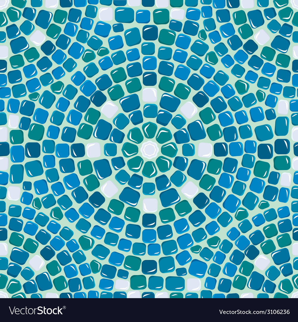 Mosaic seaml 4 380 vector | Price: 1 Credit (USD $1)